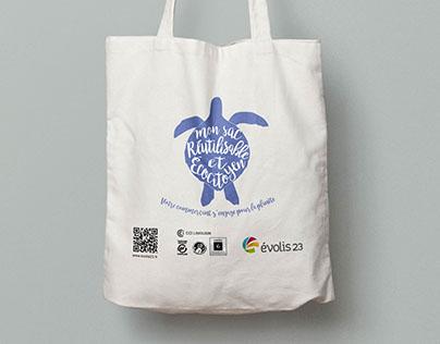 Tote bag : sac réutilisable