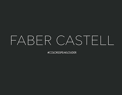Faber Castell Promotional Ads - Colors speak louder