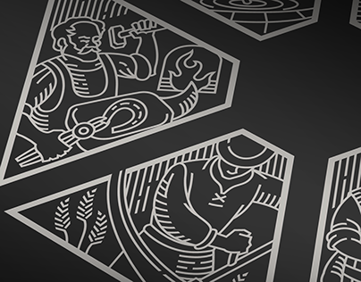 U Devatero řemesel | ilustrace na menu