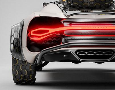 TERRACROSS / Bugatti ⤬ チャネック 男の子 4x4 Kit