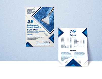 Cleaning Flyer Design