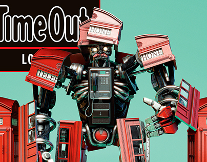Time Out London Cover:Bots! Transforming London