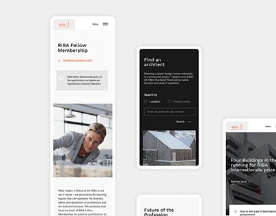 Visual Identity – Riba Architecture 2020