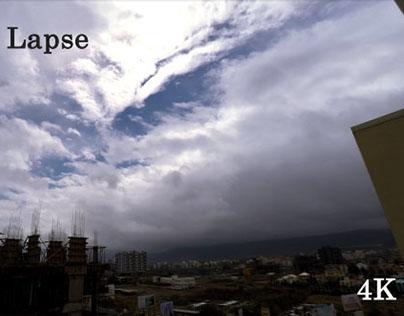 4k Sky Time Lapse - Stock Footage