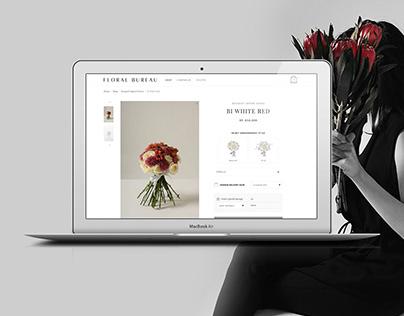 Floral Bureau - Ecommerce