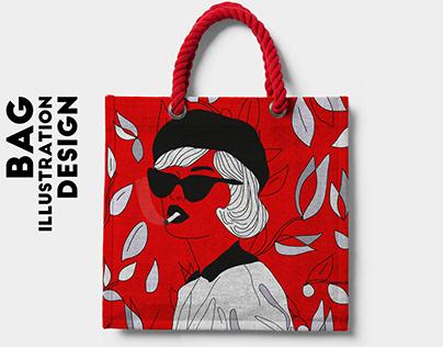 bag illustration design