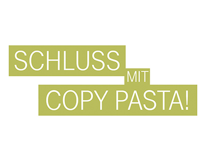 "Telekom – NEON Advertorial ""Schluss mit Copy Pasta!"""