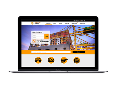 Transport Web Page Design