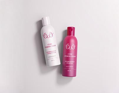 Hair Care Packaging Design