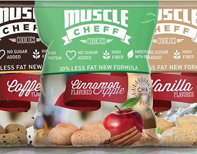 MuscleCheff Packaging Design