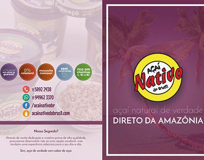 Novo Folder Açaí Nativo