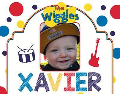 Xavier 1st Bday Invites