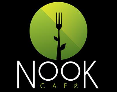 Nook Cafe Menu Design | LINQ Las Vegas