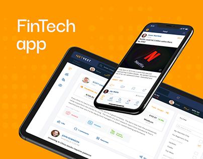 Netvest App. UX/UI Design