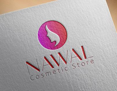 Nawal Cosmetic Store Logo/ Logo phobia