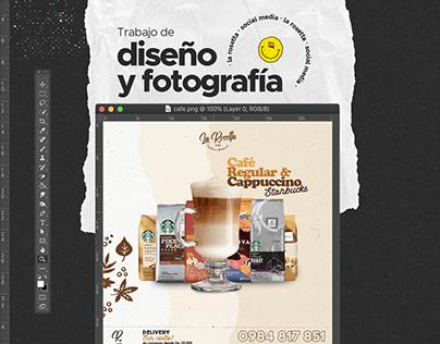 La Rosetta Coffee Shop Social Media
