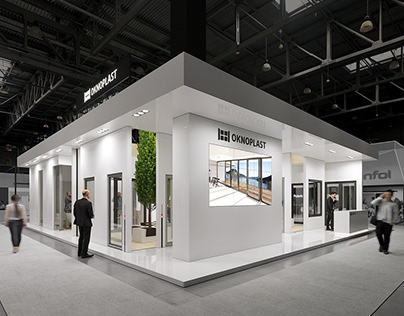 Oknoplast Batimat Paris - Exhibition stand