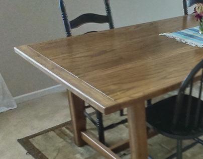 Ash Farm Table