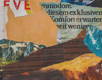 Mountainside // Collage