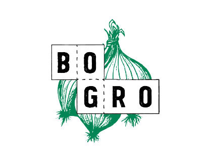 Bo og Gro - logo and visual style