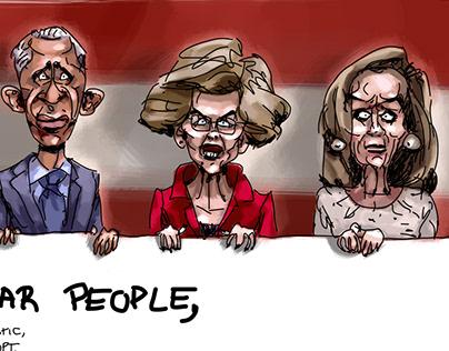 Party Convention | Harris Biden Warren Obama Pelosi