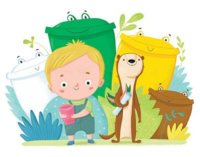 Illustrations for a children's books