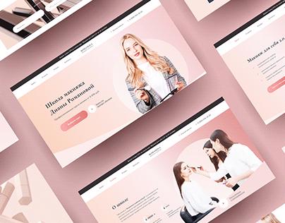 Website for online makeup courses