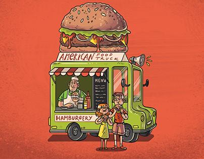 Food Truck - Board Game