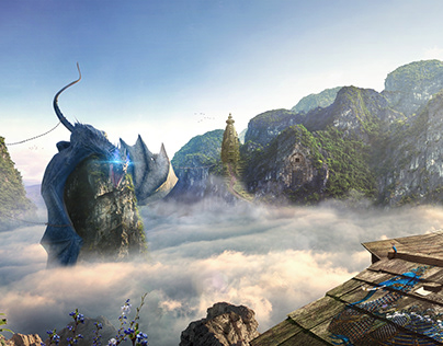 Conjured Dragon Prison