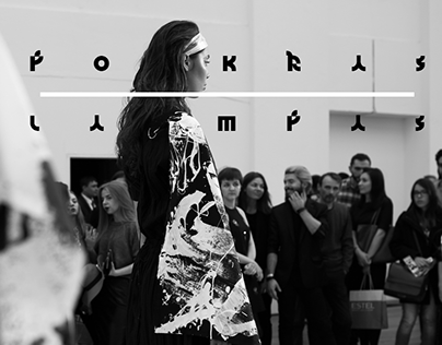 Aurora Fashion Week 2015 \ Live Calligraphy Performance