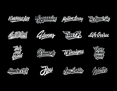 Lettering Logos Collection Vol. 5