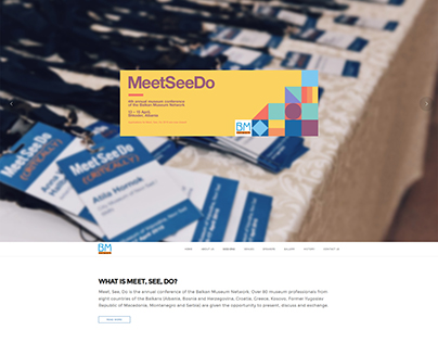 Website for Meet, See, Do Conference
