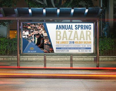 Bazaar Billboard Template