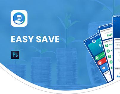 Easy Save : Money Management App UI UX Design