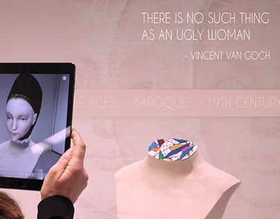 beauty(never)fades - female ideals of beauty in AR