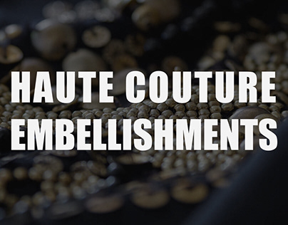 Haute Couture Embellishments Samples