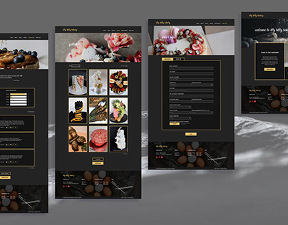 Itty Bitty Bakery Web Design