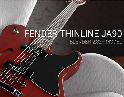 Guitar Fender Thinline JA90 model