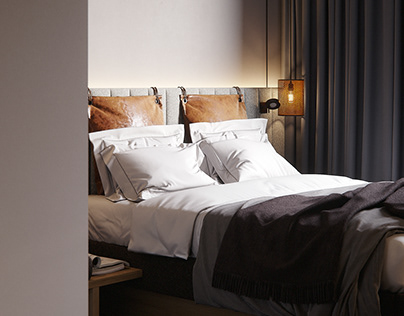 CGI - Hotel room, Moxy