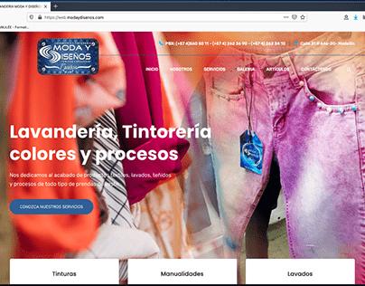 WEB SITE: Blanchisserie de vêtements industriels MyD