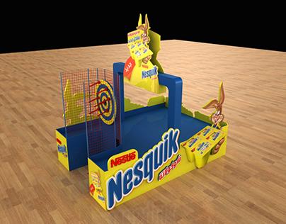Nesquik Floor display