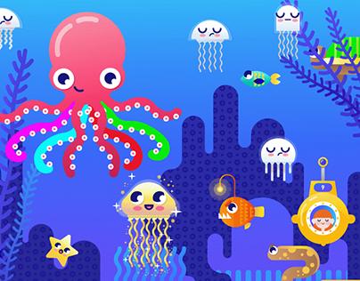 """Тренажер-игра """"Осьминог"""" / Simulator-game """"Octopus"""""""