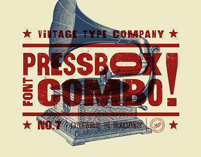 PressBox Font Combo 2017