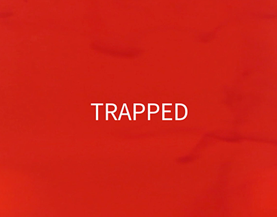 """Abstract Title Sequence """"TRAPPED"""""""