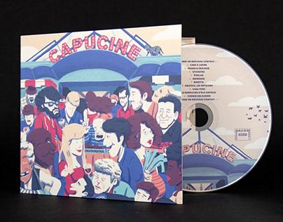 Capucine - album cover