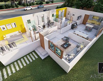 3d Floor Plan for a house