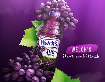 Welch's Juice Advertisement