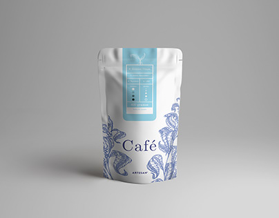 Café - Graphic packaging desing