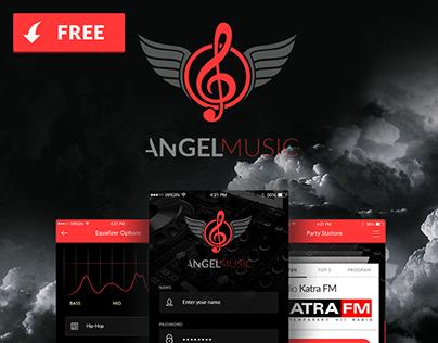 Angel Music - Iphone Radio App