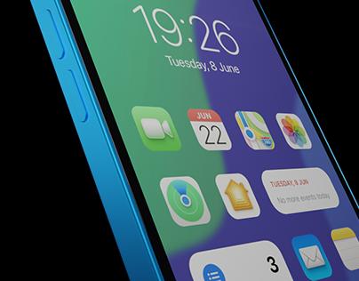 iPhoneOS 16 Concept
